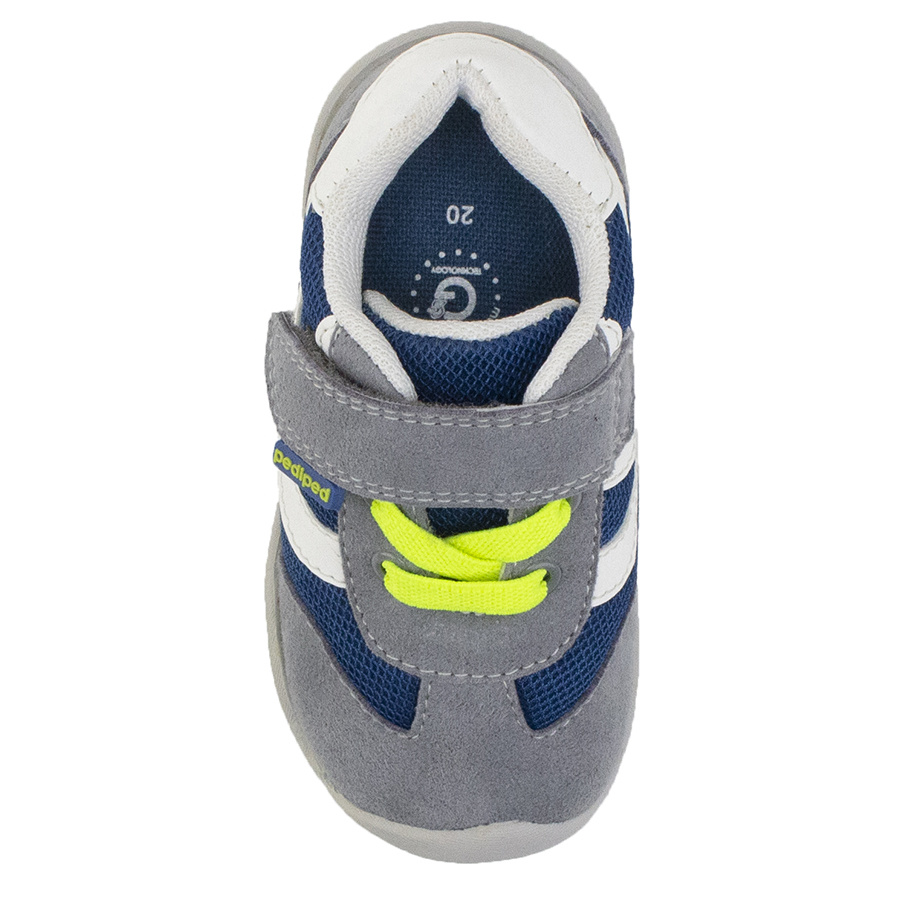 Pediped Cliff Grey Blue Lime