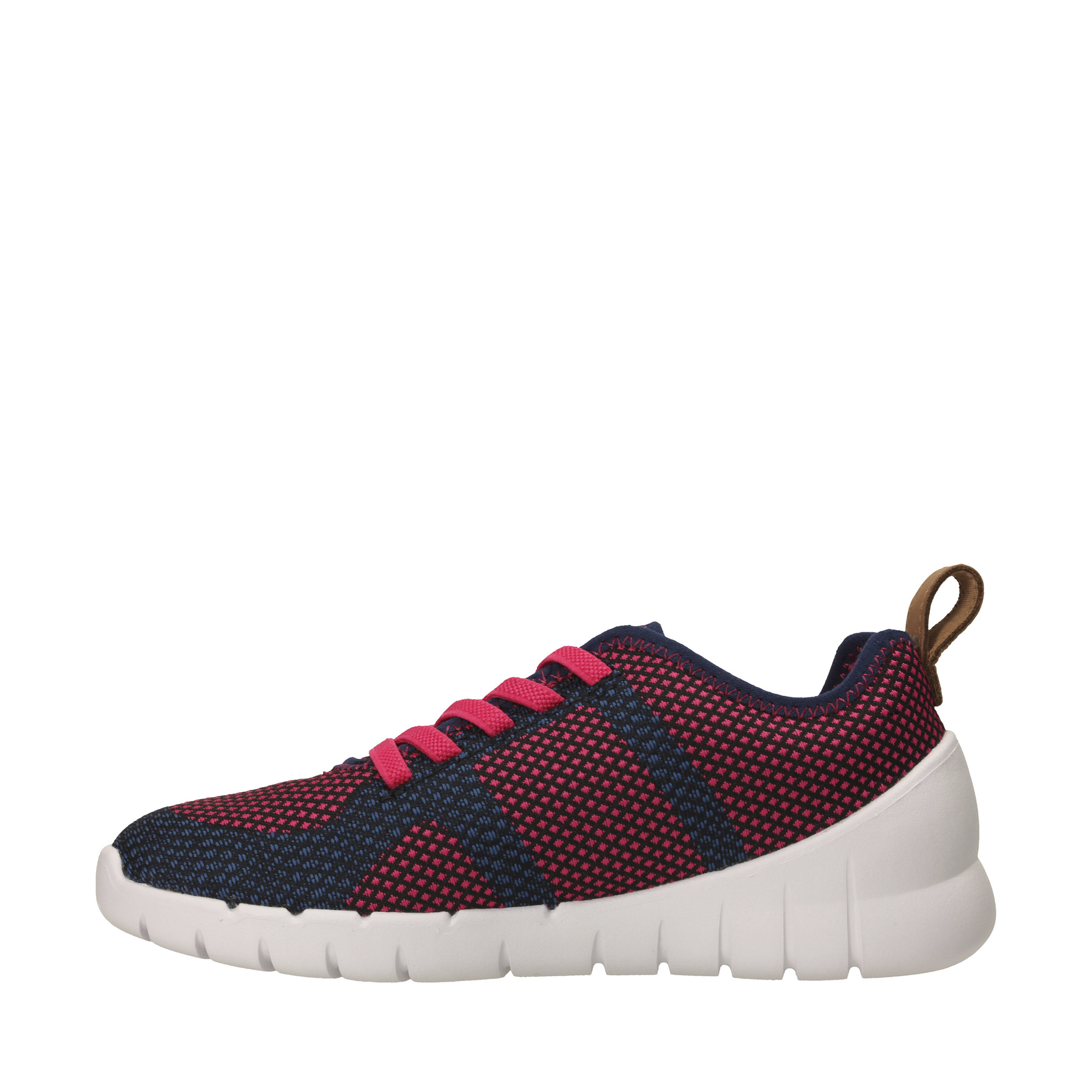 Clarks Sprint Flux Navy Raspberry