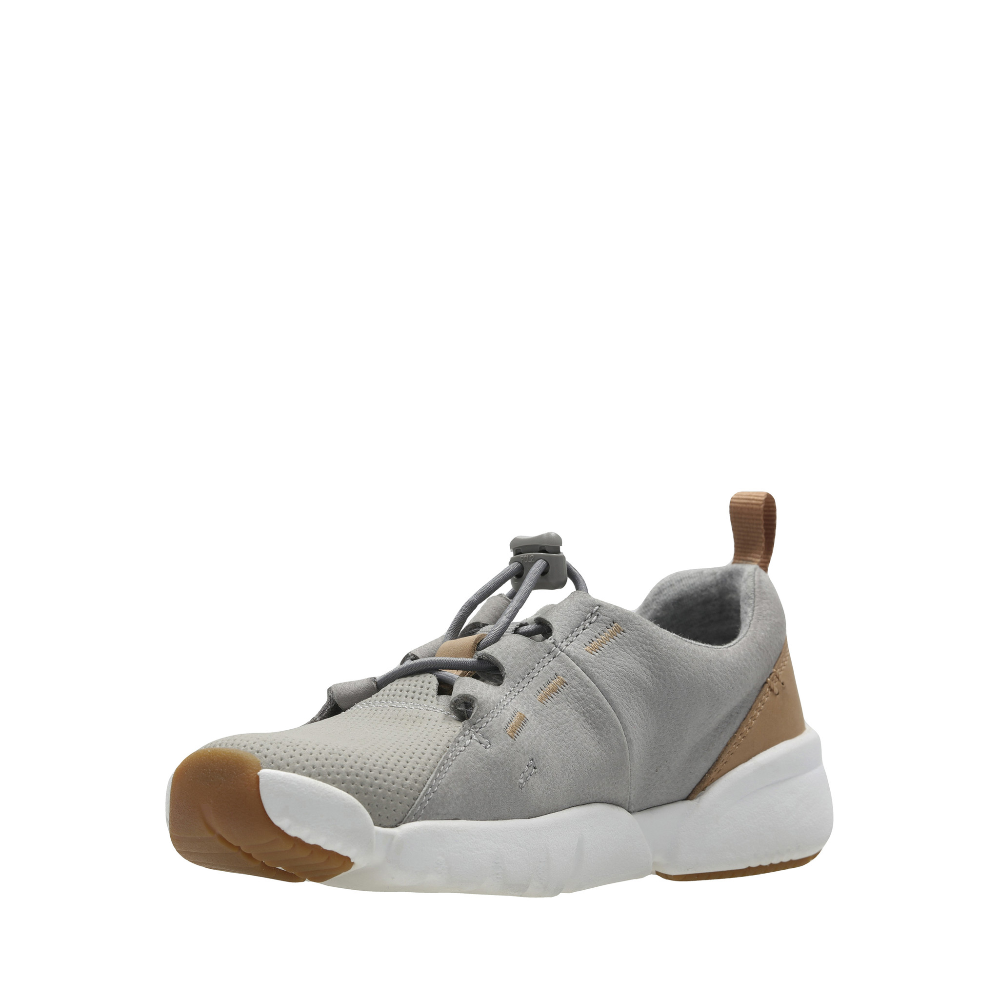 Clarks Tri Weave Grey Youth