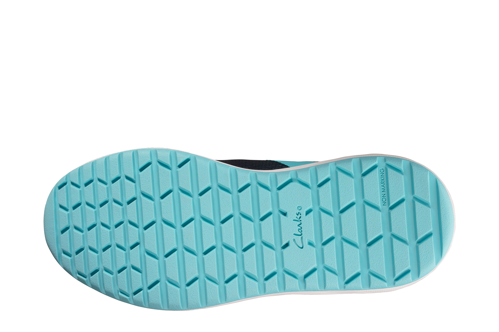 Clarks Aeon Pace Navy Youth