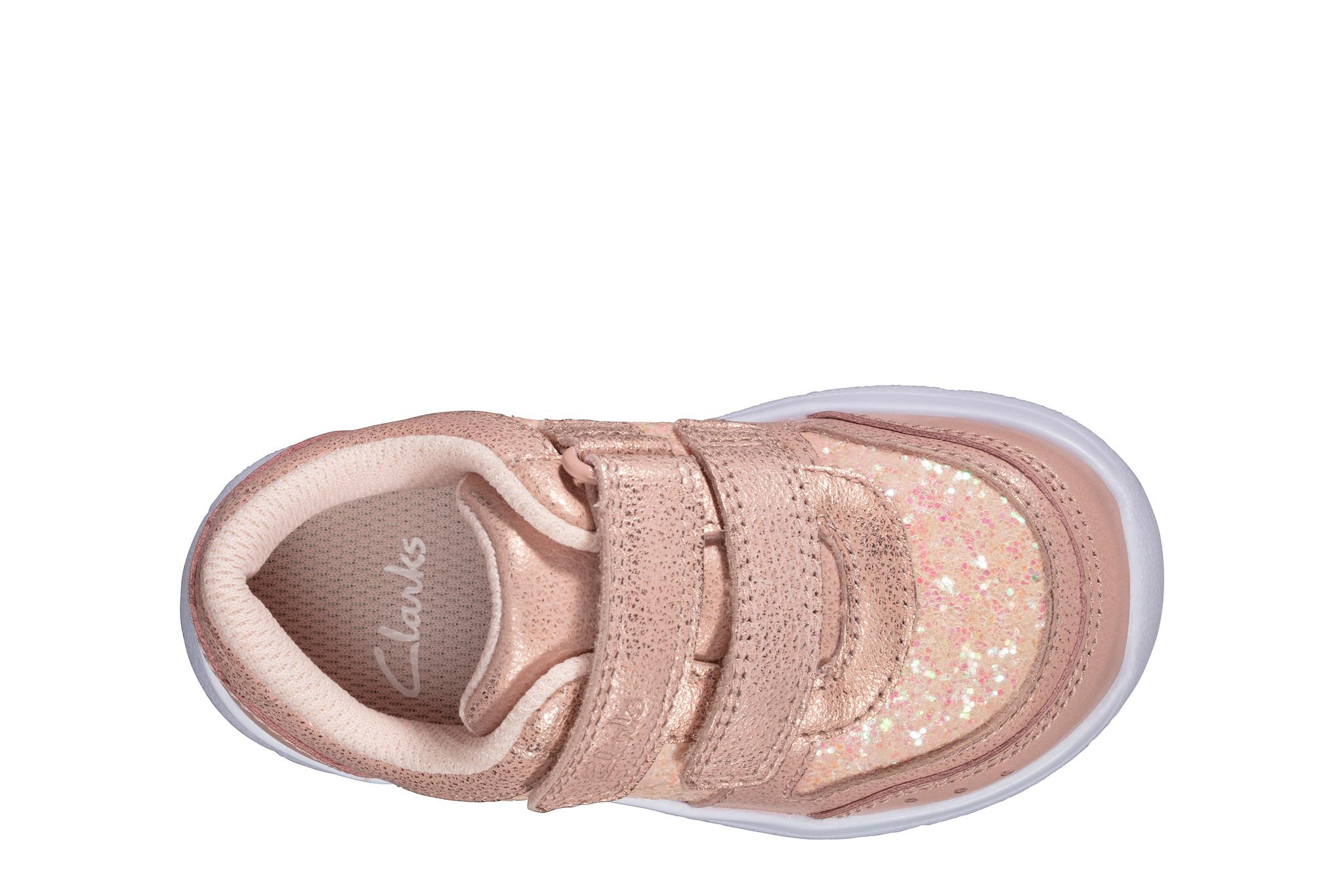 Clarks Ath Sonar Pink Infant