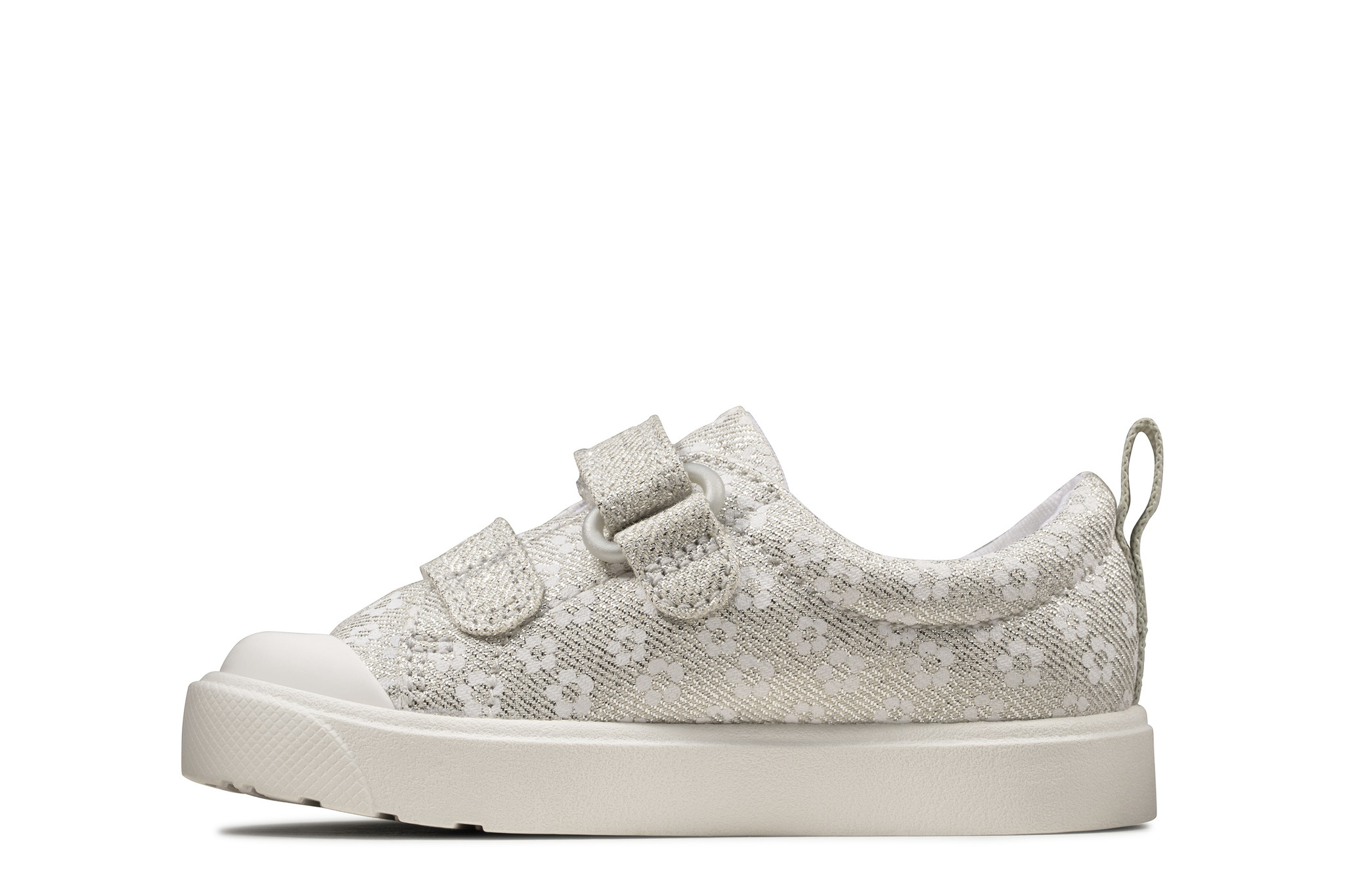 Clarks City Bright Silver