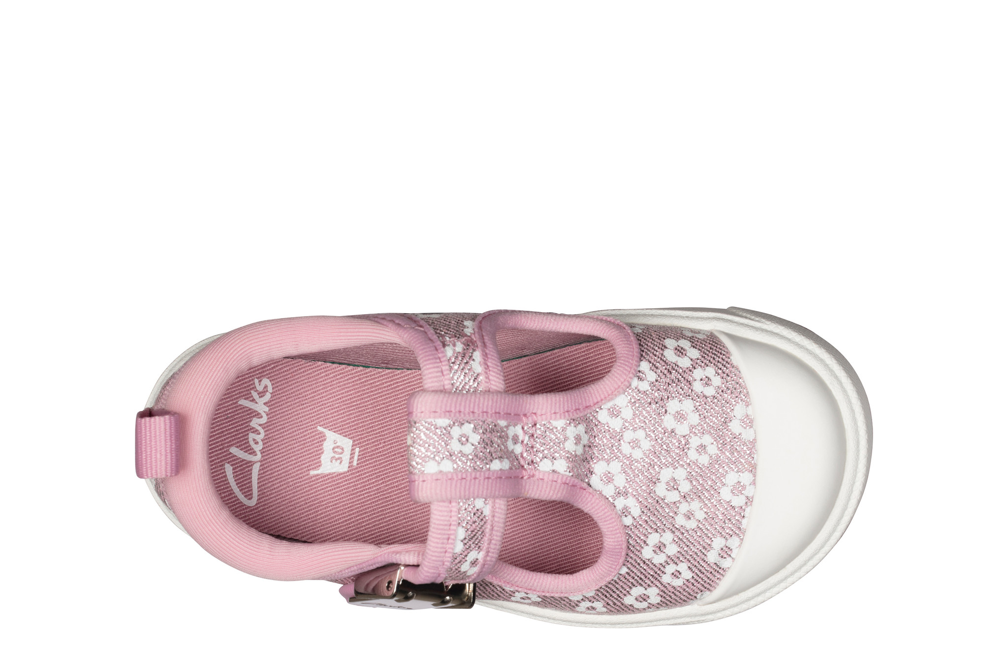 Clarks City Dance Pink Floral Junior
