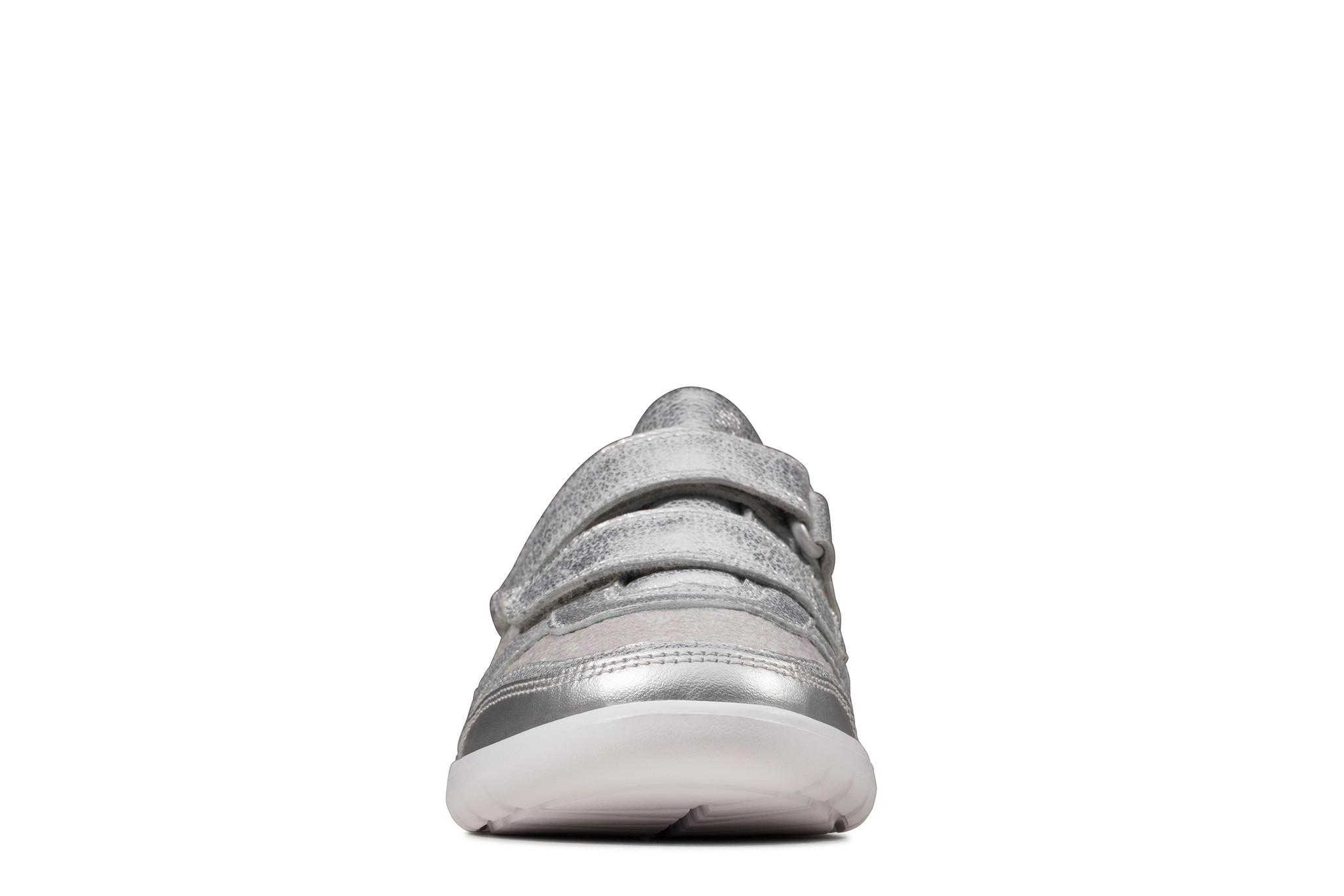 Clarks Scape Spirit Silver Metallic