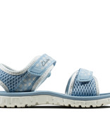 Clarks Surfing Tide Light Blue Youth