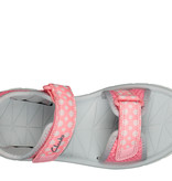 Clarks Surfing Tide Pink Combi Junior