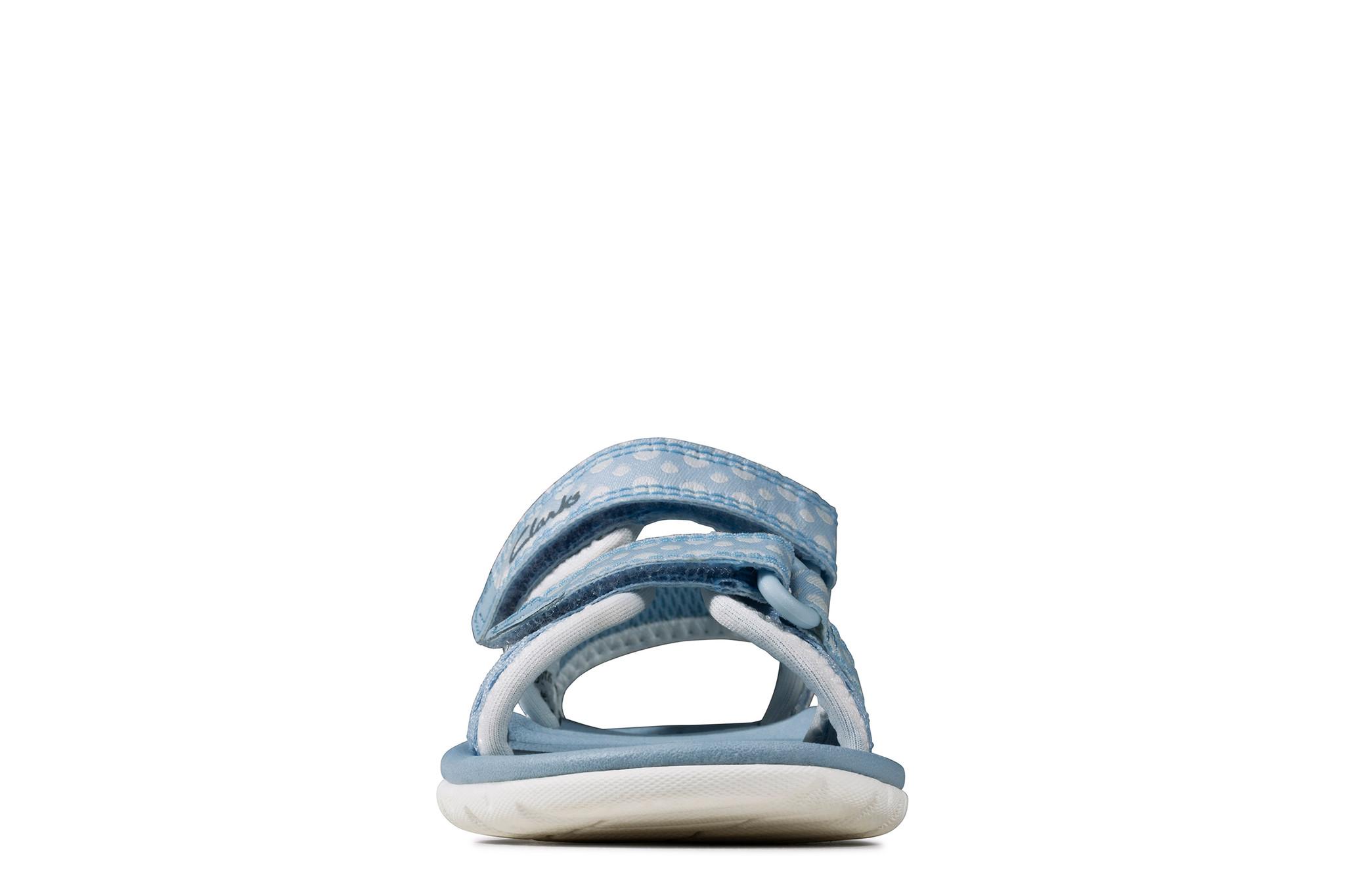 Clarks Surfing Tide Light Blue Infant