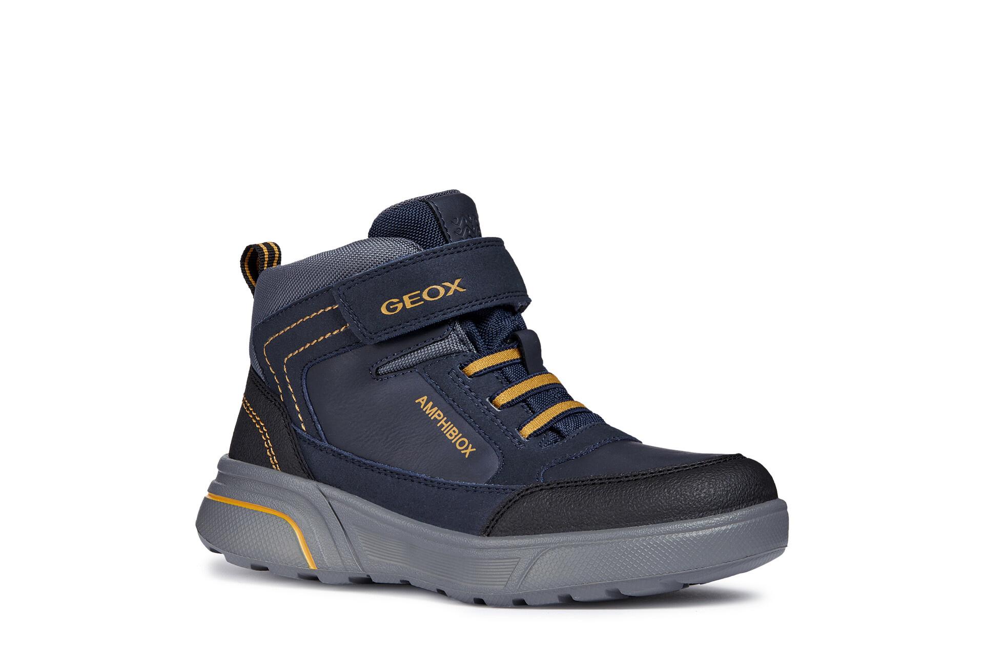 Geox Sveggen Navy Yellow
