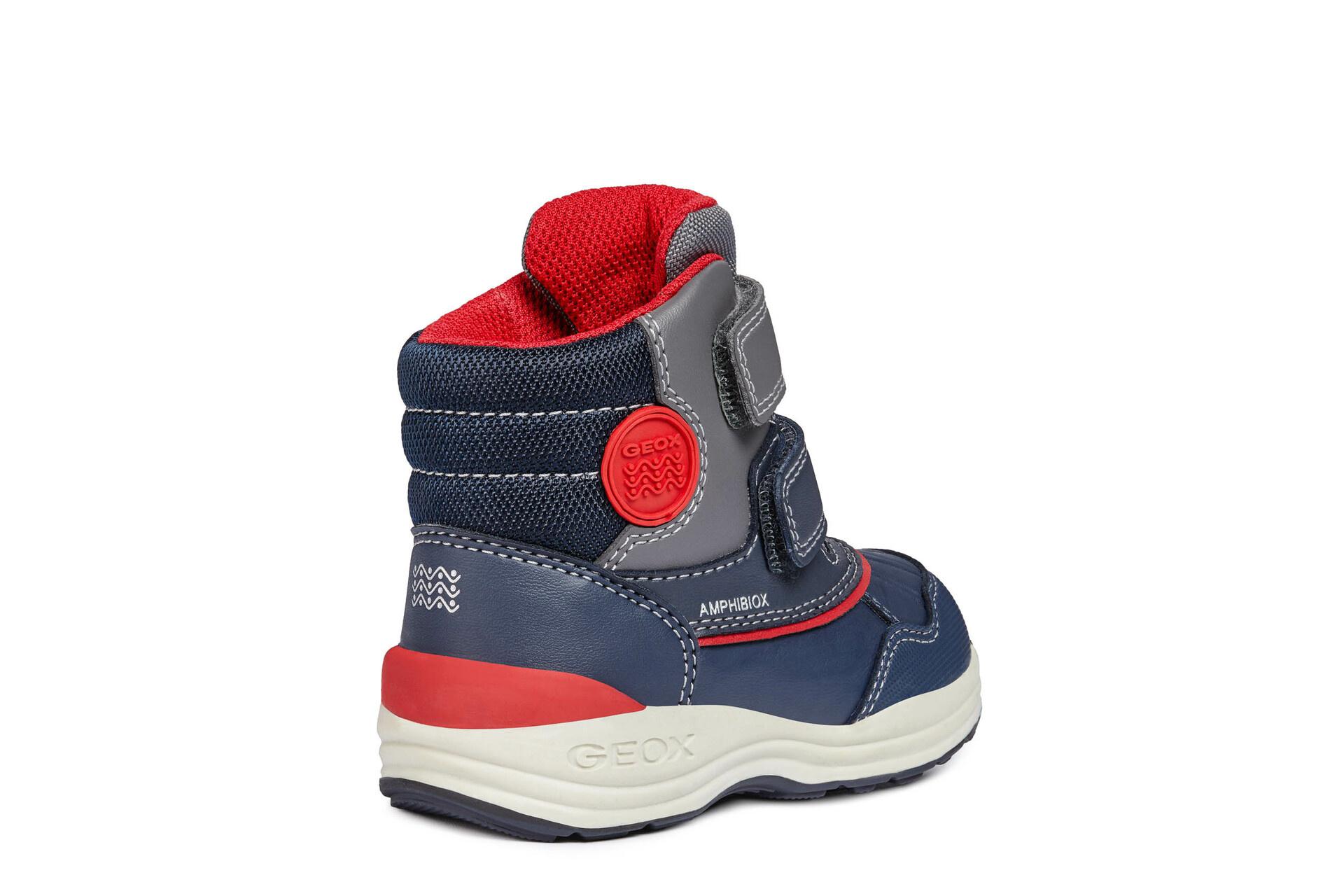 Geox Gulp Navy Red Infant