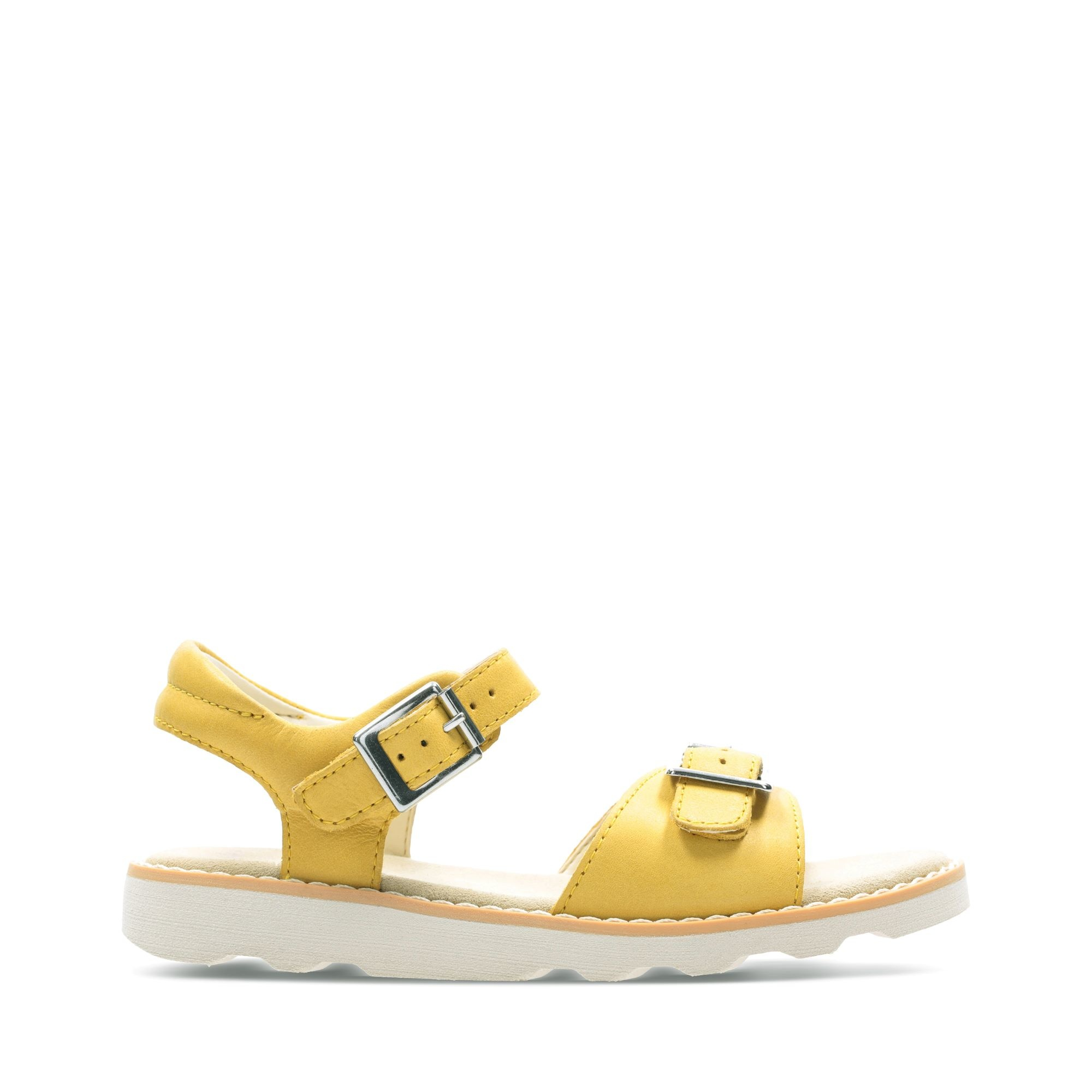 Clarks Crown Bloom Yellow