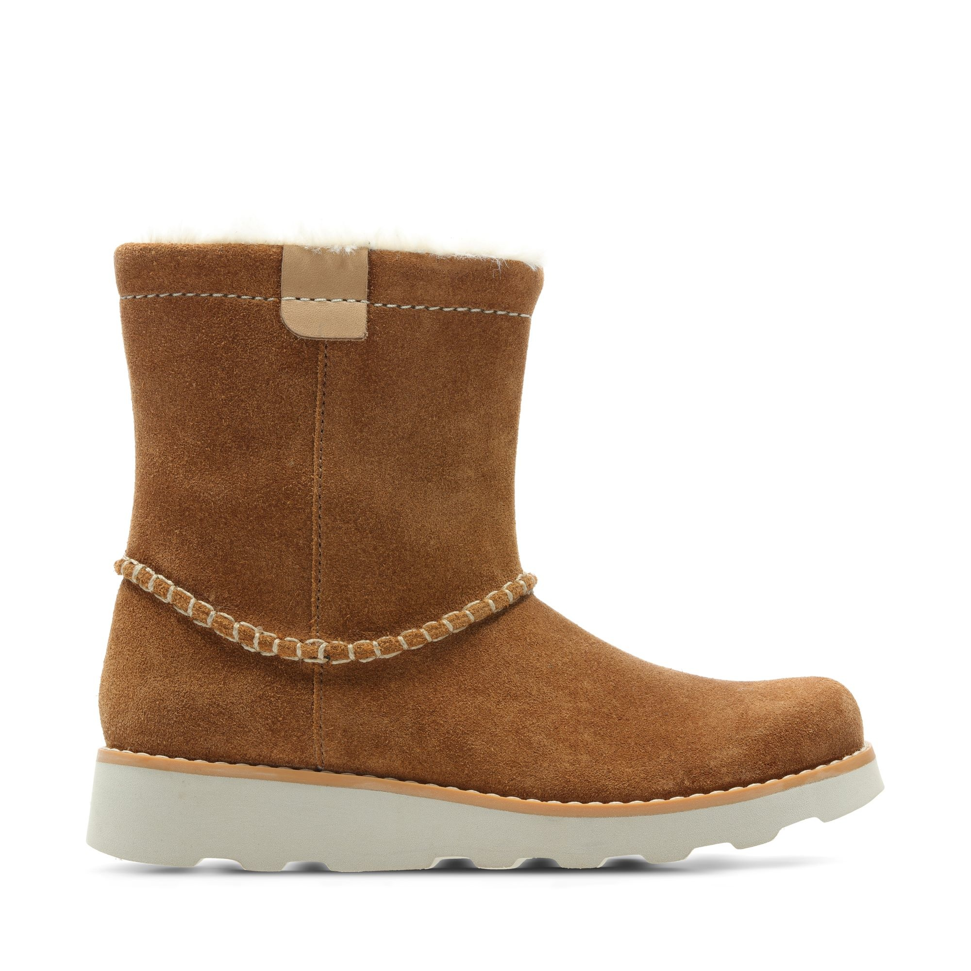 Clarks Crown Piper TanYouth