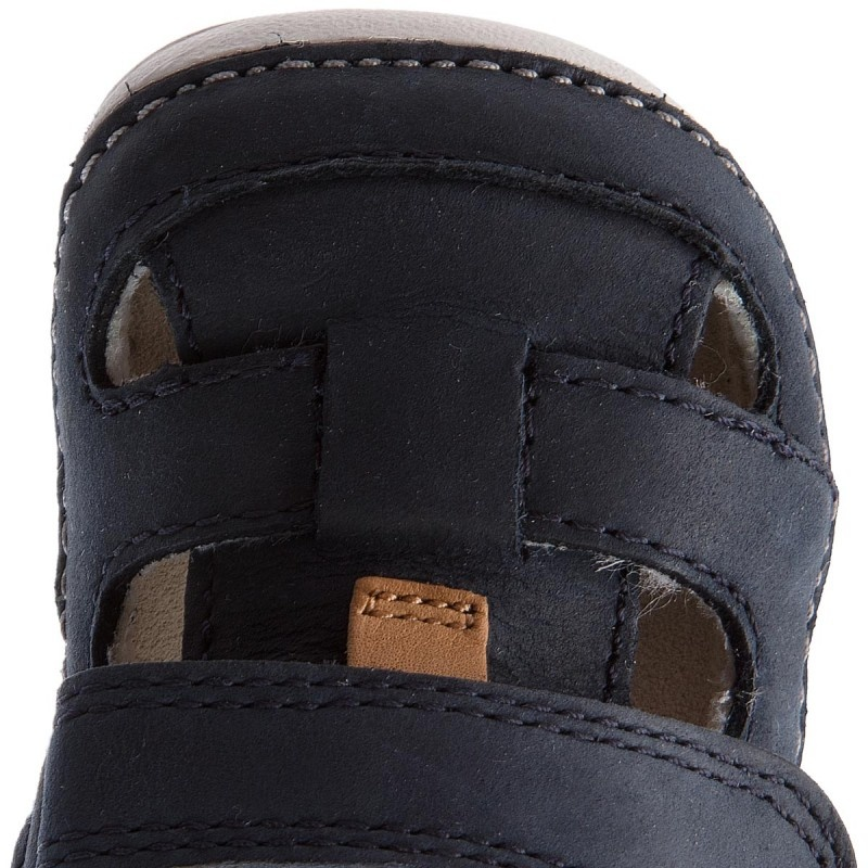 Clarks Tiny Ash Navy Leather