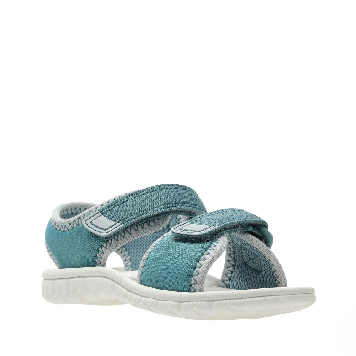 Clarks Surfing Tide Teal Synthetic Infant