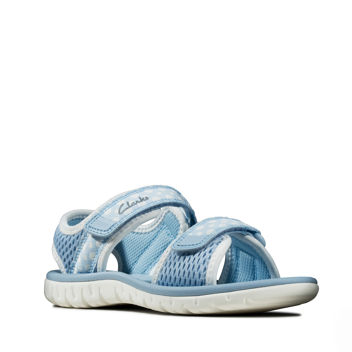 Clarks Surfing Tide Light Blue Junior