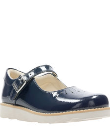 Crown Jump Navy Patent Junior