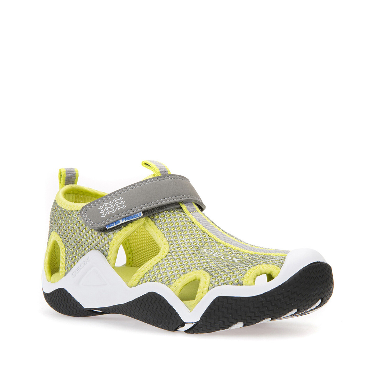 Geox Wader Grey Lime