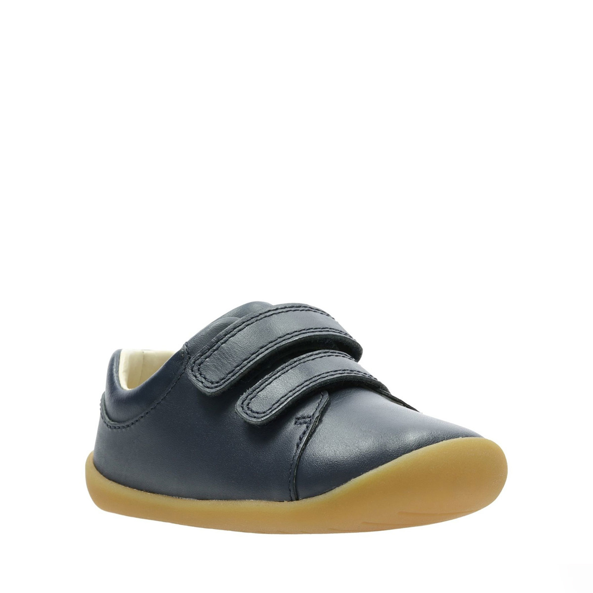 Clarks Roamer Craft Navy Leather
