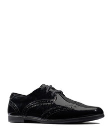 Scala Lace Patent Youth