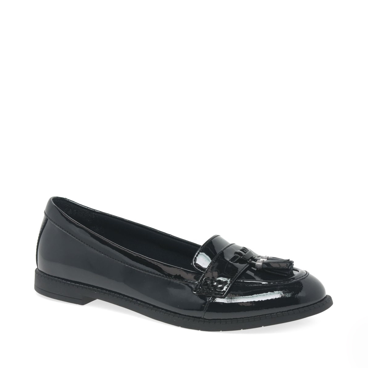Clarks Preppyedge Patent Youth