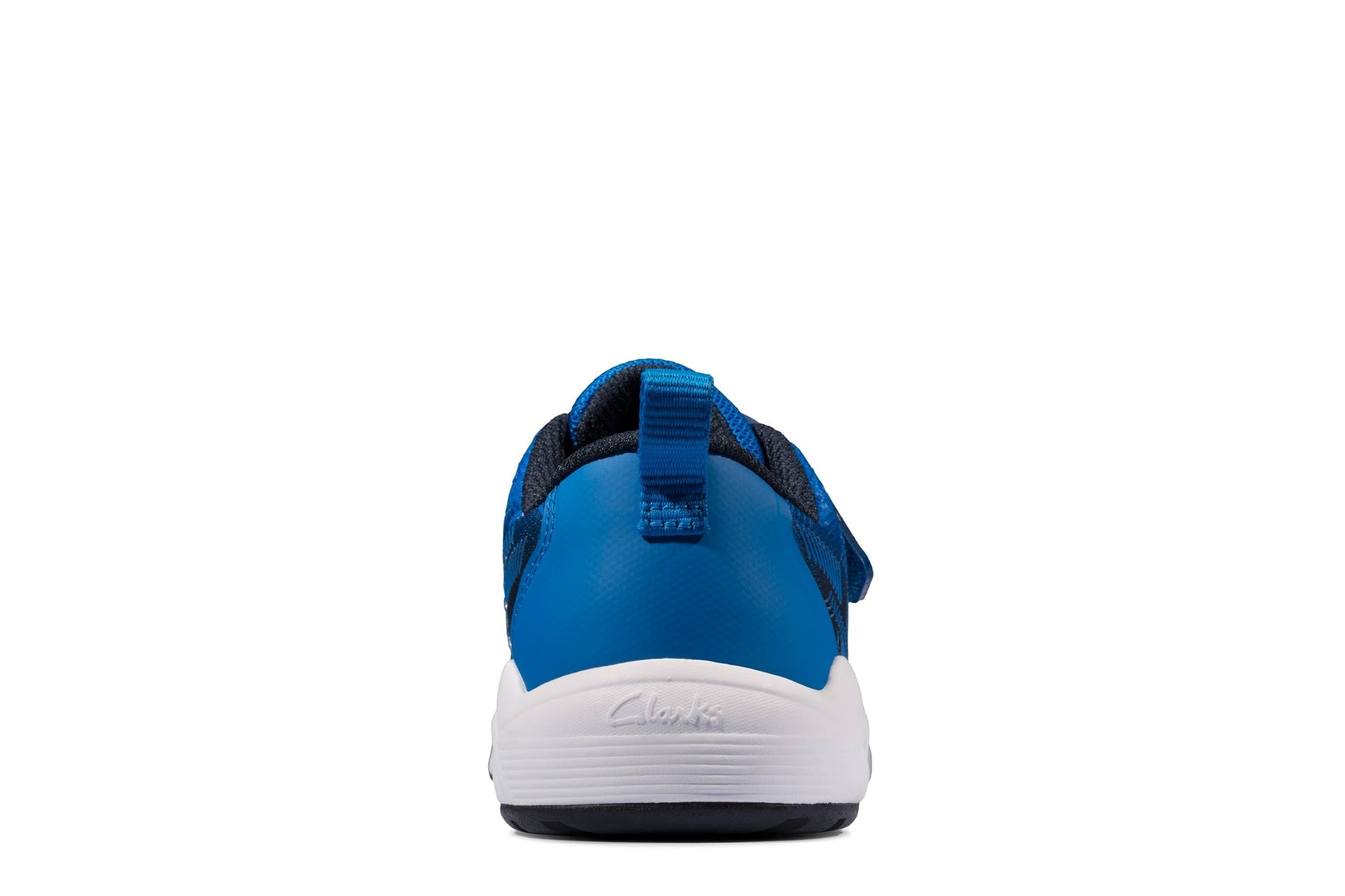 Clarks Aeon Pace Navy Blue Youth