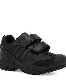 Savage Black Leather