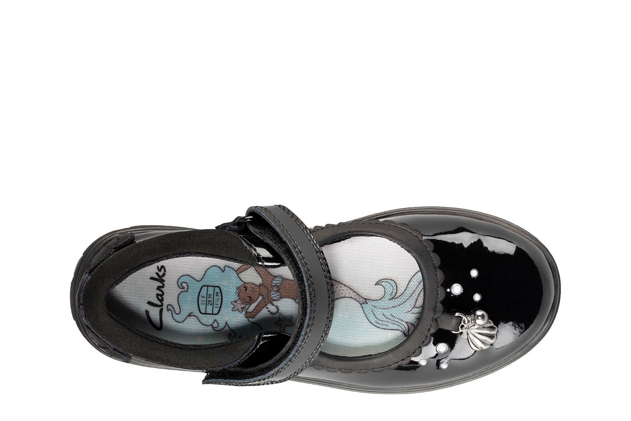 Clarks Sea Shimmer Patent