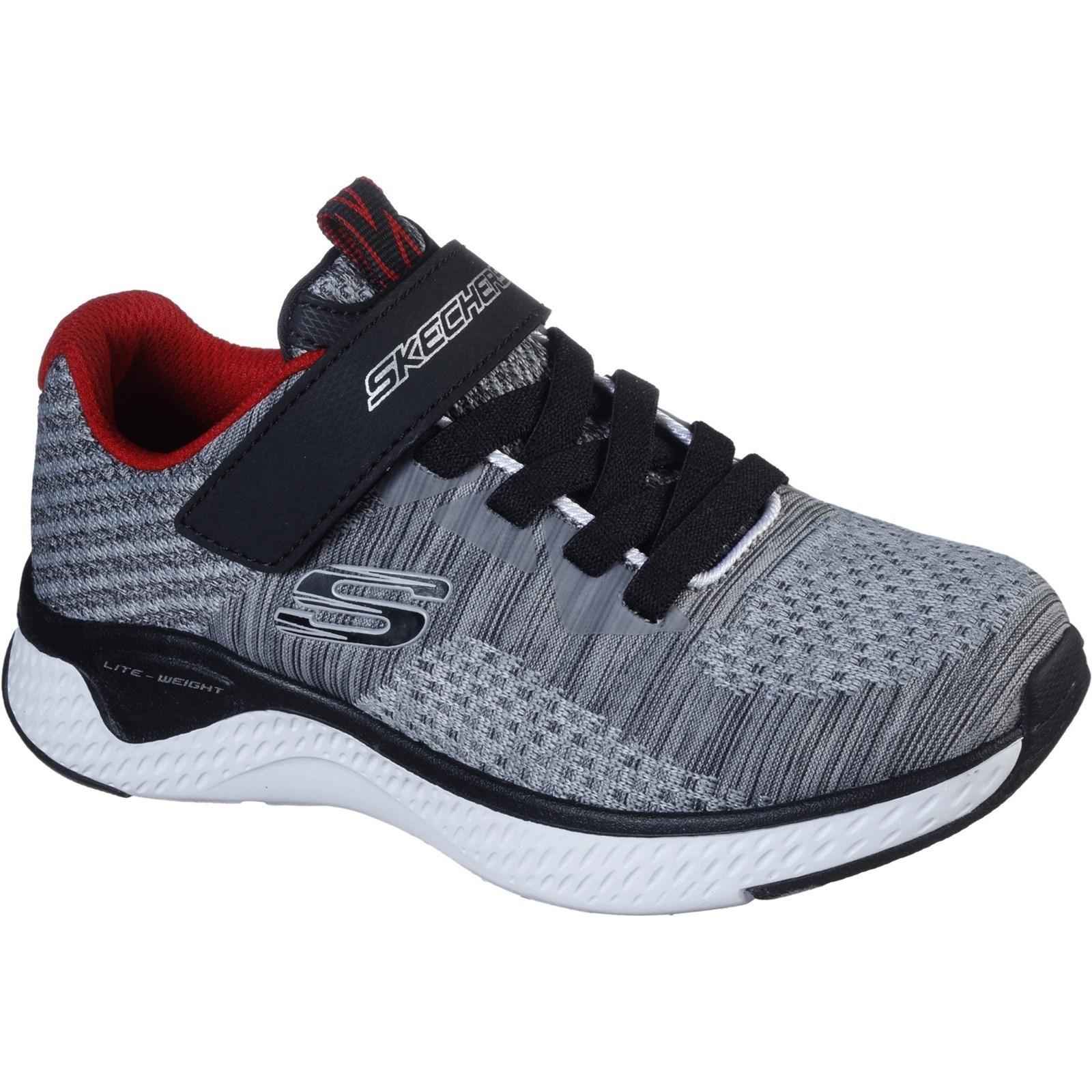 Skechers Solar Fuse Grey Black