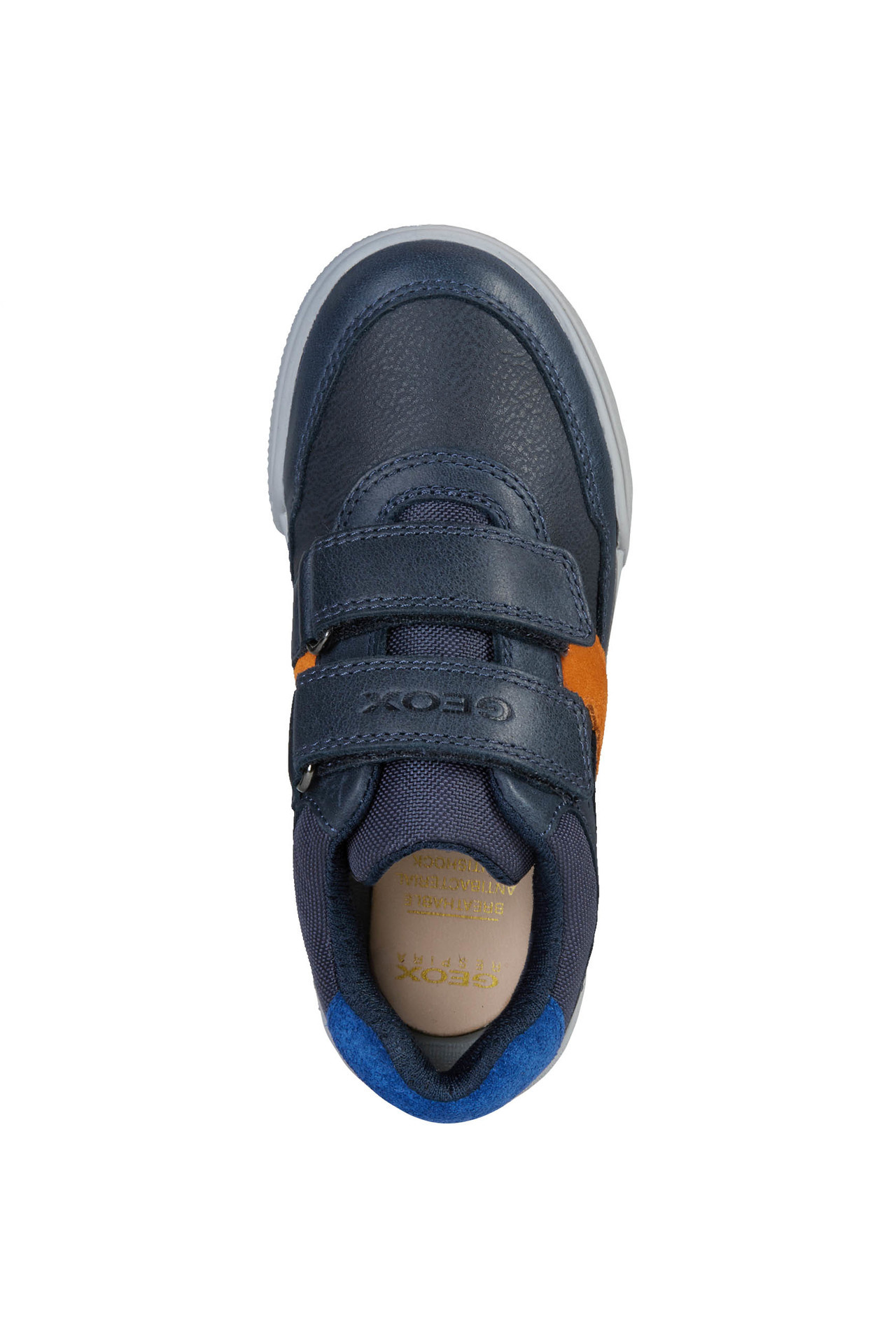 Geox Poseido Navy Orange