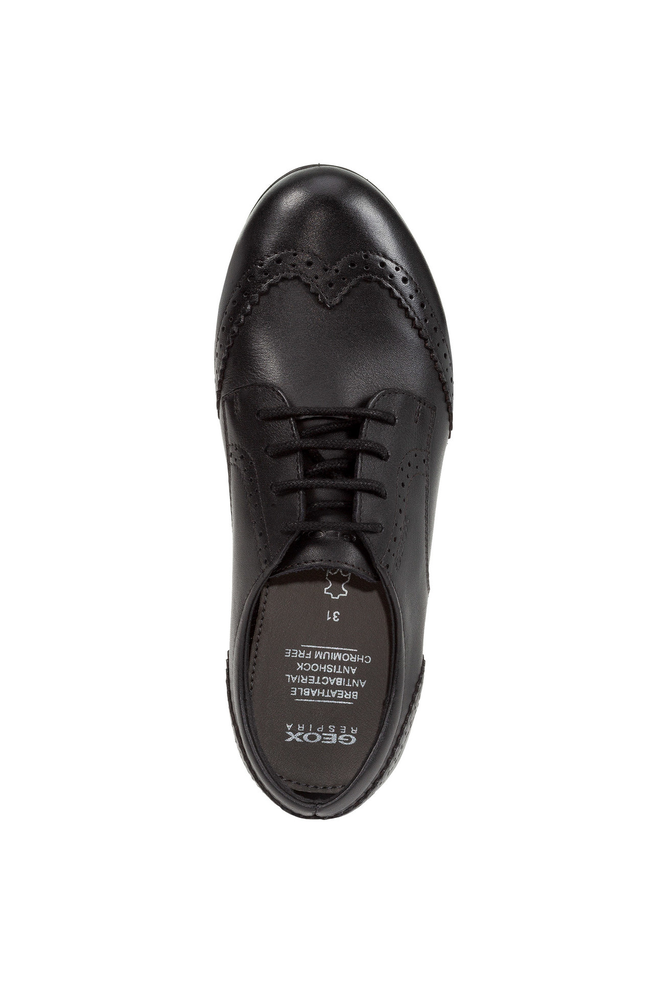 Geox Plie Lace Leather