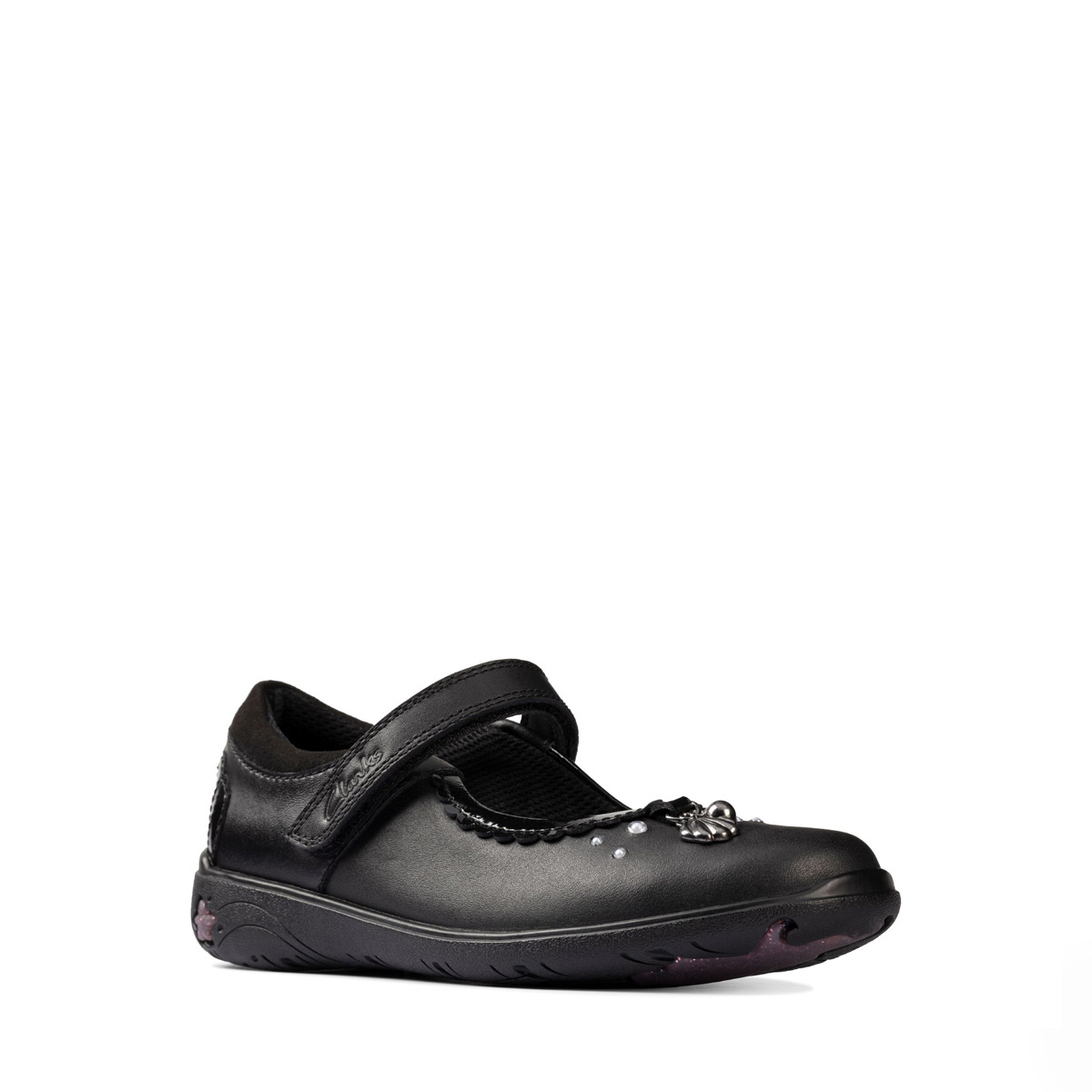 Clarks Sea Shimmer Leather Junior