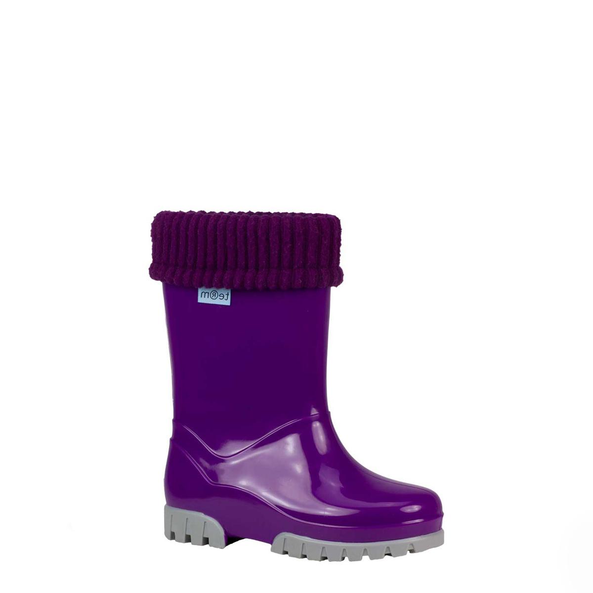 Term Girls Purple Wellies