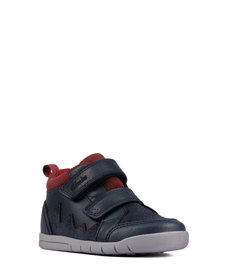 Rex Park Navy Leather Junior