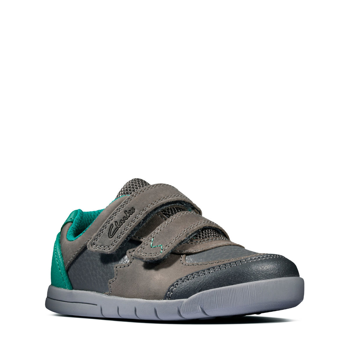 Clarks Rex Quest Dark Grey Infant