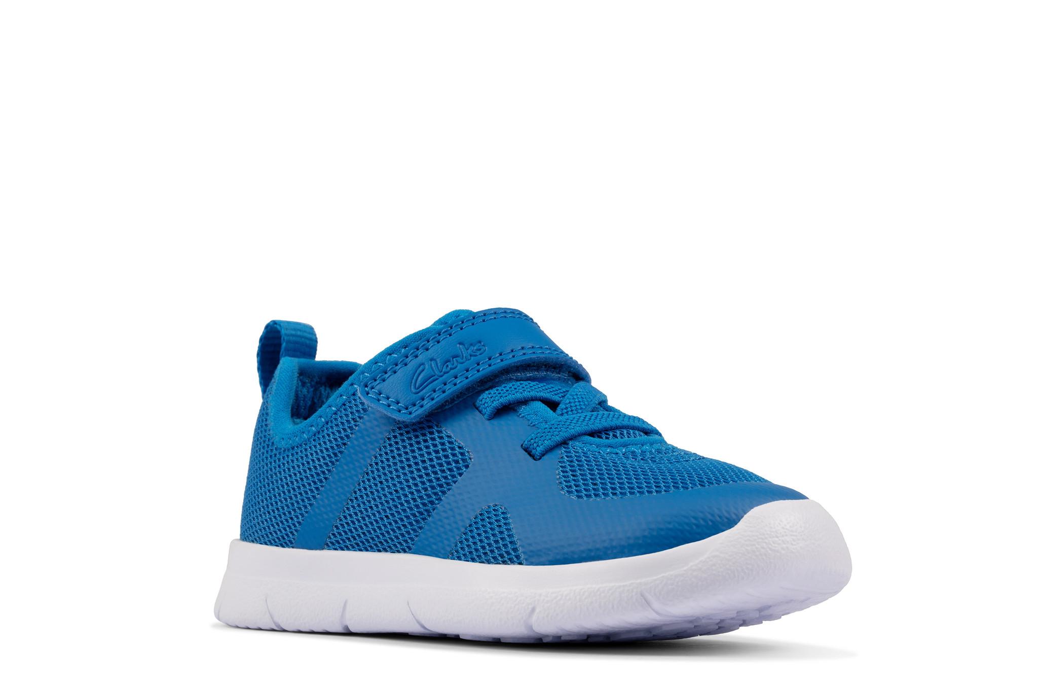 Clarks Ath Flux Blue Infant