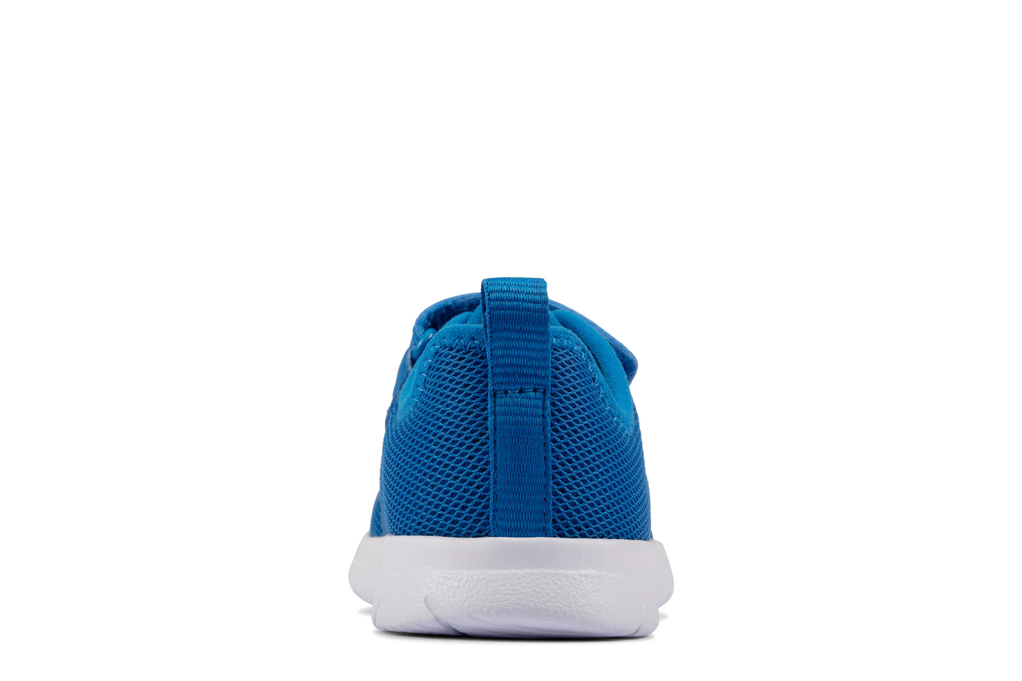 Clarks Ath Flux Blue Synthetic Infant