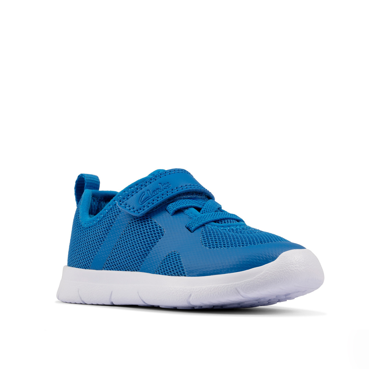 Clarks Ath Flux Blue Synthetic Junior