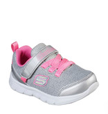 Skechers Moving On Silver Hot Pink