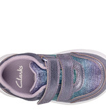 Clarks Ath Sonar lilac Junior