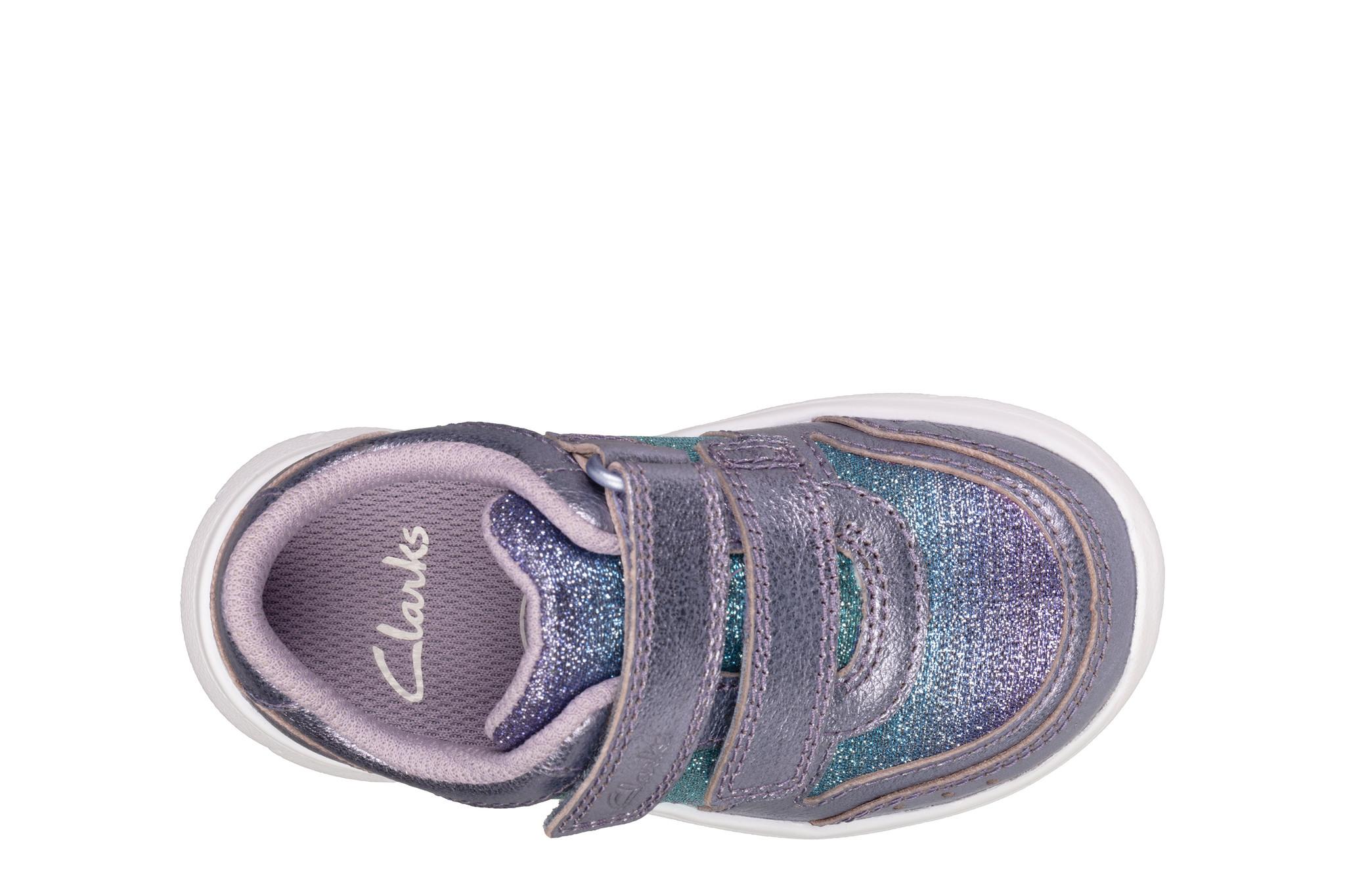 Clarks Ath Sonar Lilac Infant