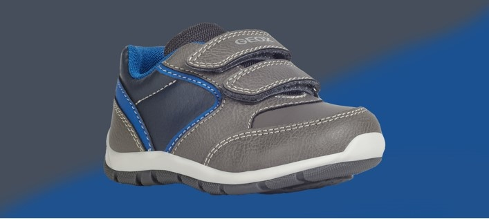 Geox Heira Grey Navy