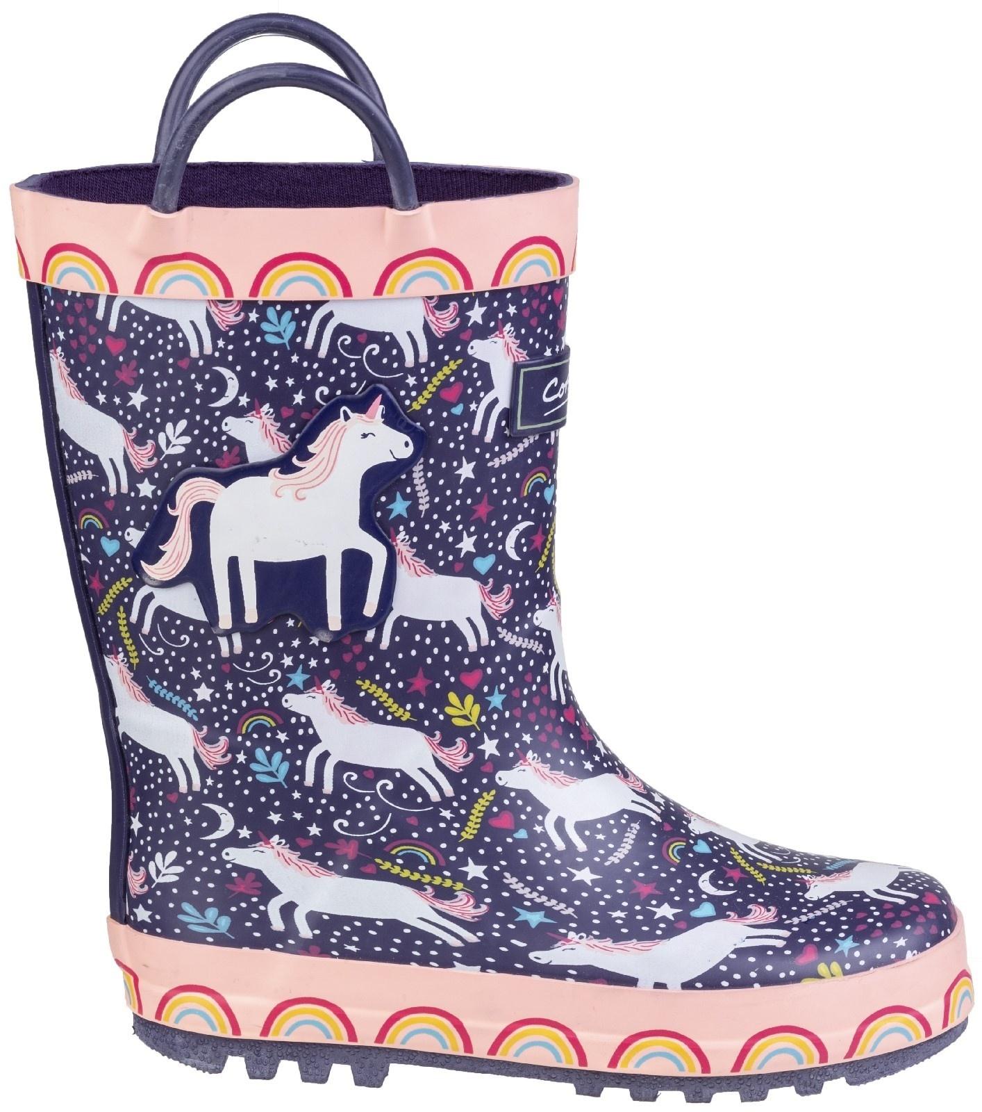 Cotswold Cotsworld Sprinkle Unicorn Wellies