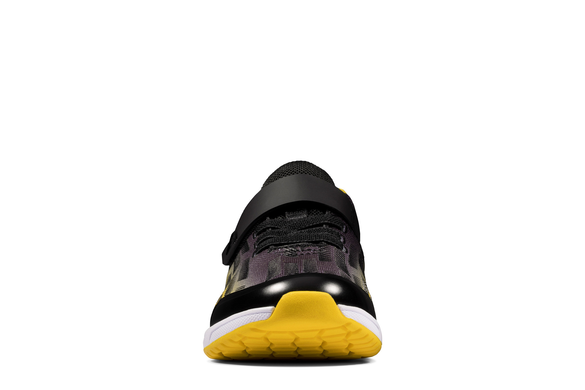 Clarks Aeon Pace Black Yellow Infant