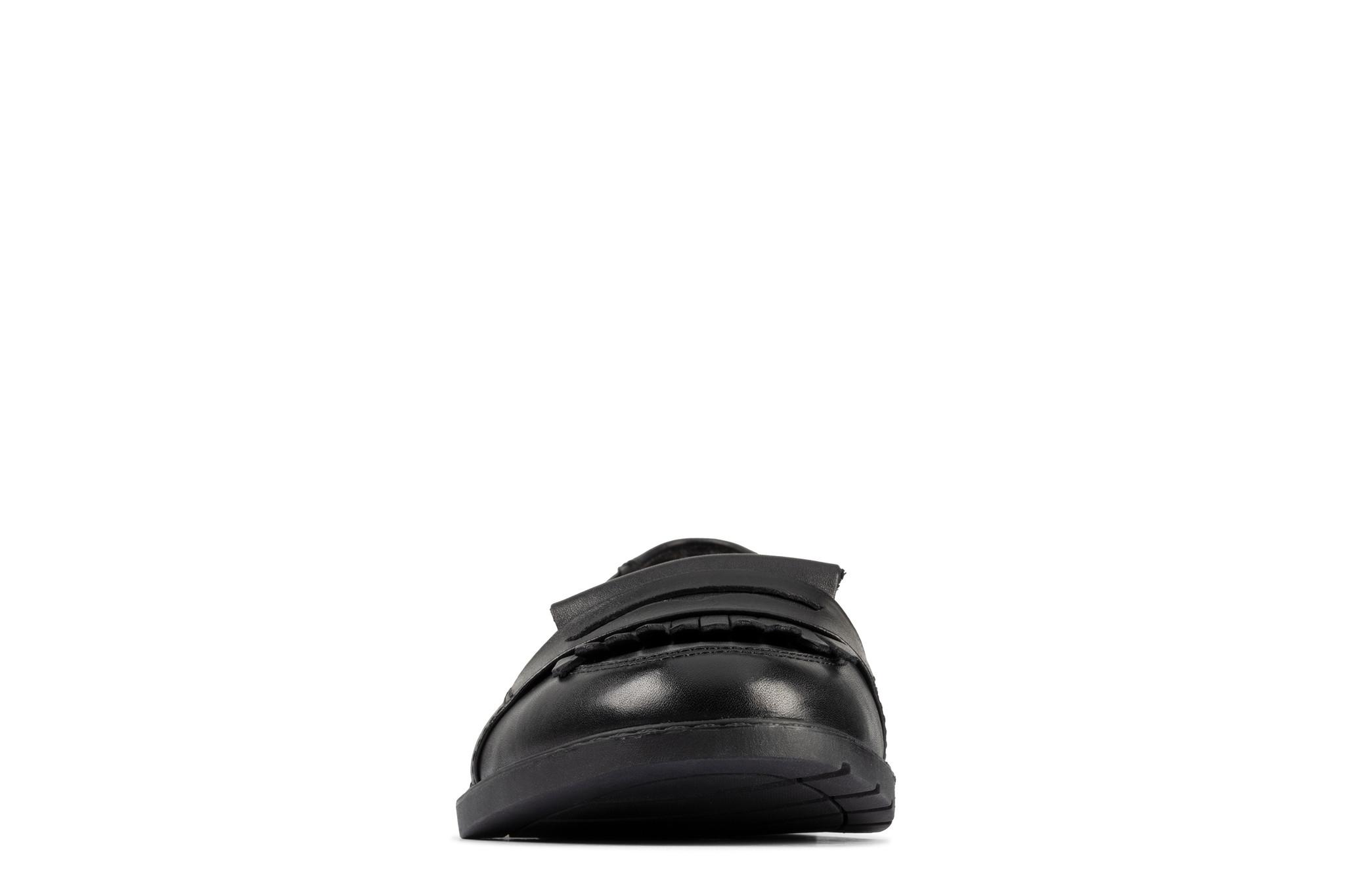 Clarks Scala Bright Black Leather 6