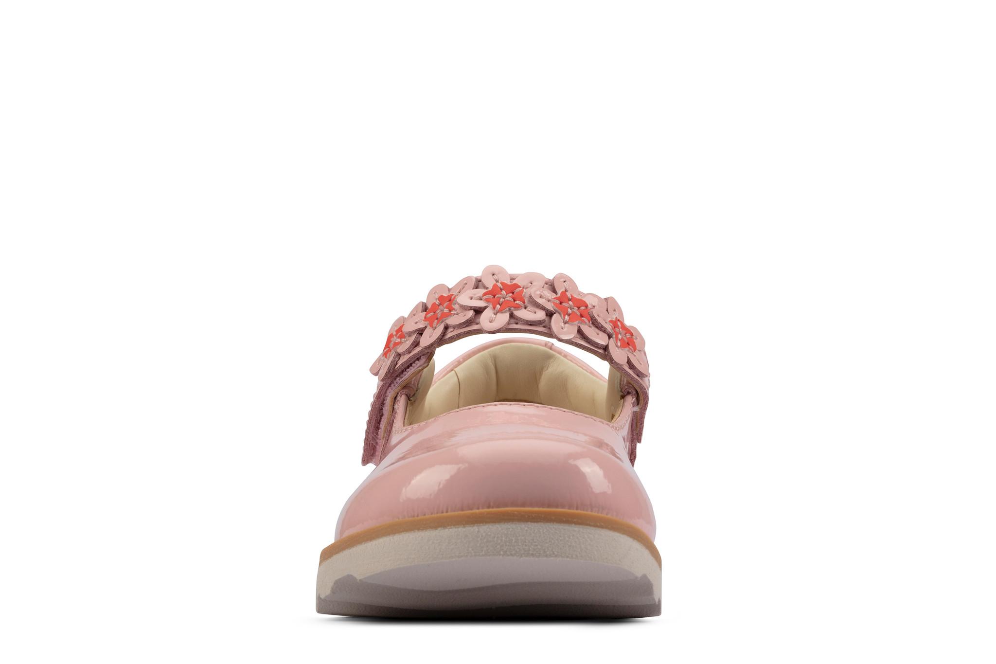 Clarks Crown Petal Light Pink Junior