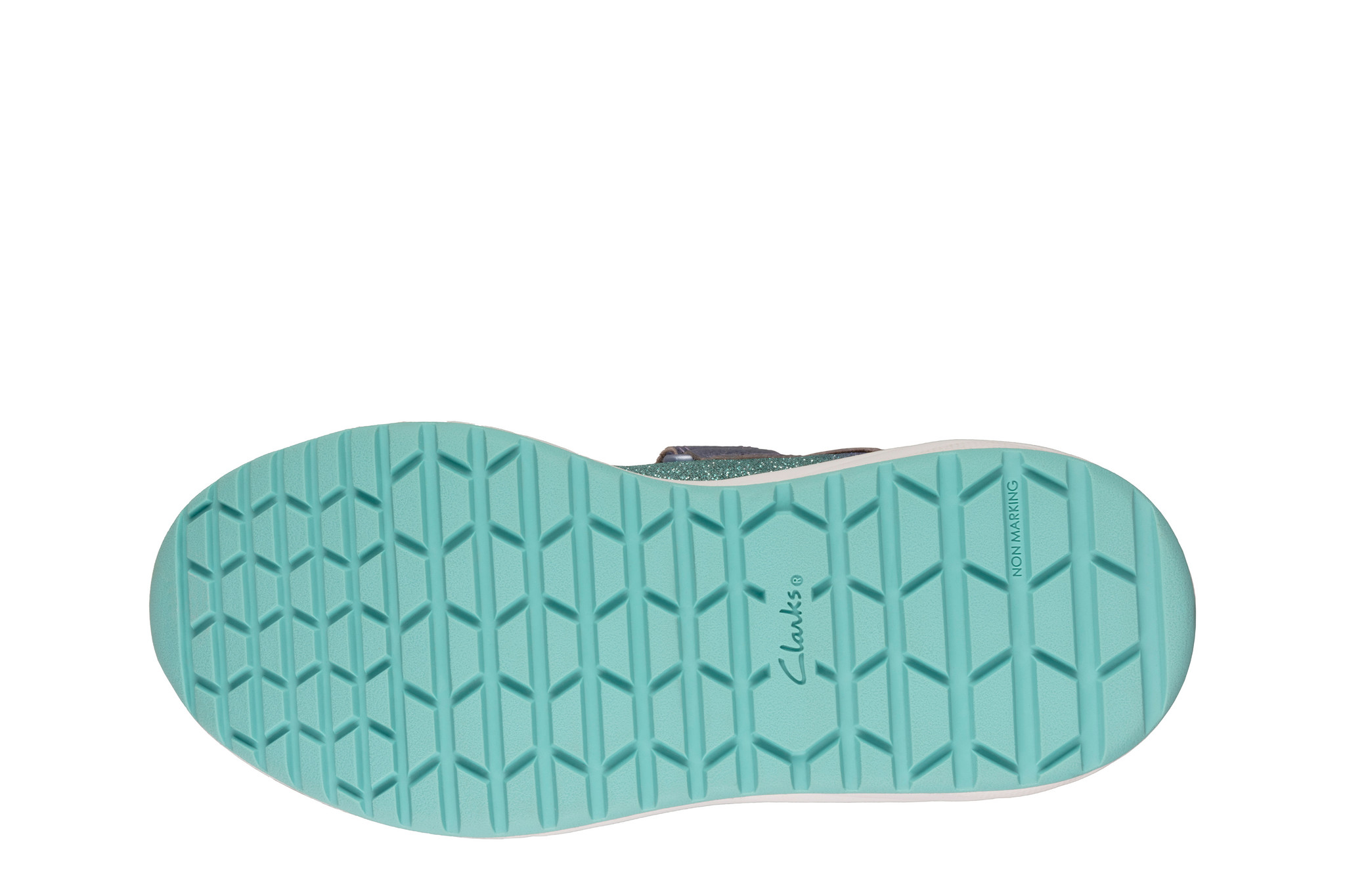 Clarks Aeon Flex Lilac Leather