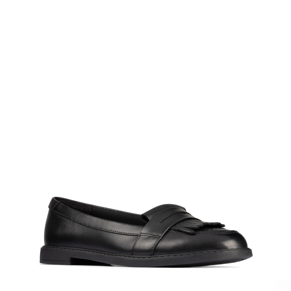 Clarks Scala Bright Black Leather