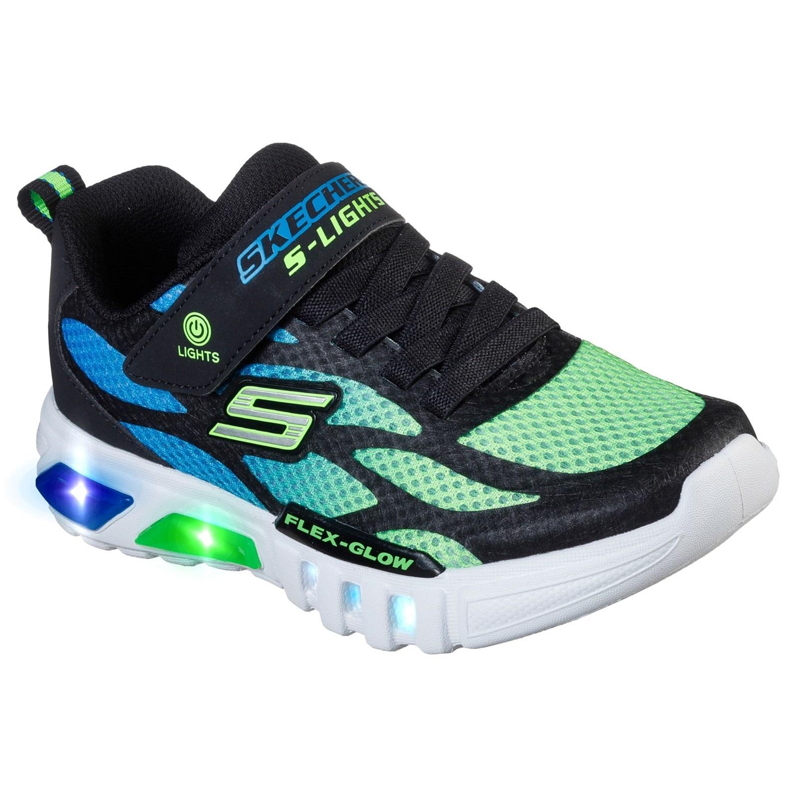 Skechers Dezlo Blue Lime