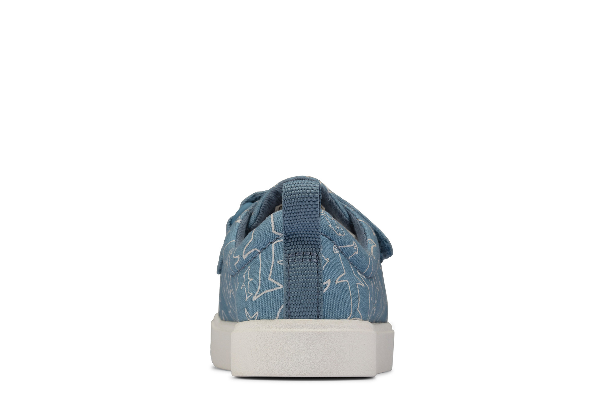 Clarks City Bright Mid Blue Infant