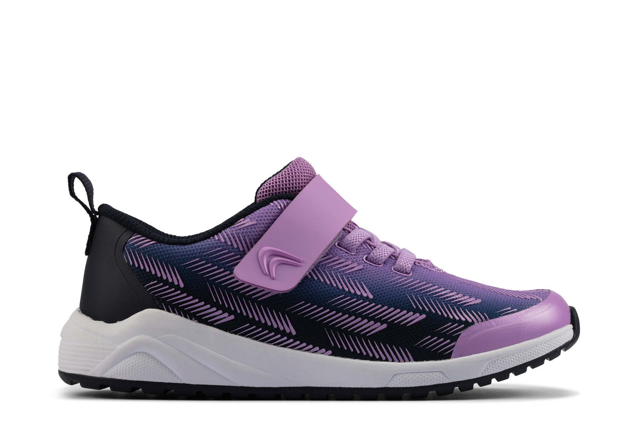 Clarks Aeon Pace Purple Youth