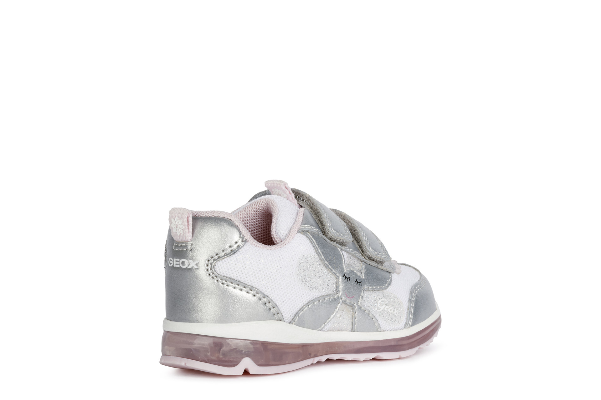 Geox Todo Silver Pink